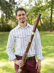 "Bassoonist Dorian Antipa comes to Great Falls by way of California and Chicago. ""Chicago was wearing thin a little bit, to be honest,"" he said. ""I'm just excited to be back out where I can be outside more."""