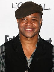 The author almost shared a pizza with actor Cuba Gooding Jr.