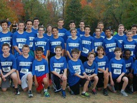 Liberty Boys XC 2015