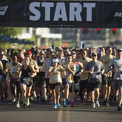 2017 Pat's Run: Thousands race in Tempe to honor Tillman