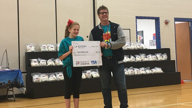 Ozark student Tara Venable received a $500 grant for her project.