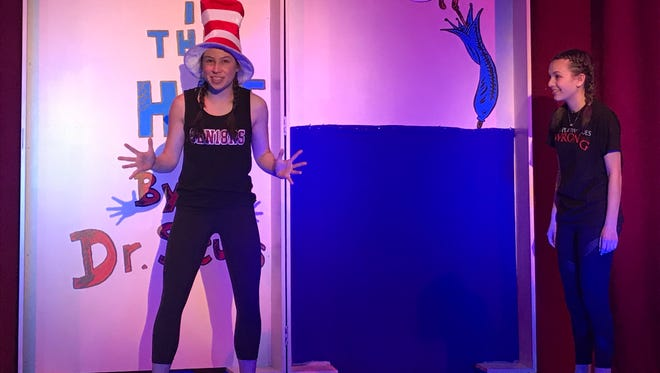 """Harrison High School presents """"Seussical,"""" with performances at 7 p.m., March 1, 2; 1 and 7 p.m., March 3; 1 p.m., March 4; $10; $5 students, seniors; www.harrisoncsd.org"""