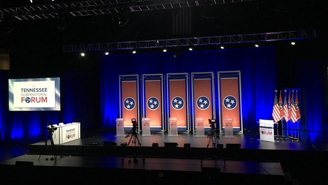 Leadership Tennessee, along with the USA TODAY NETWORK - Tennessee, among others, is hosting a Tennessee gubernatorial forum at Lipscomb University on May 15.