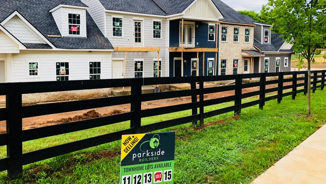 In Maury County, Parkside Builders is offering townhomes in the new Homestead at Carter's Station neighborhood in Columbia. Many buyers are looking for a lock-and-leave lifestyle.