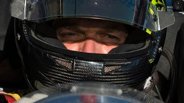 File photo taken in 2010 shows Level 5 Motorsports driver Scott Tucker in his Oreca FLM09 on pit row during a break in the morning practice session for the 58th annual American Le Mans Series 12 Hours of Sebring auto race