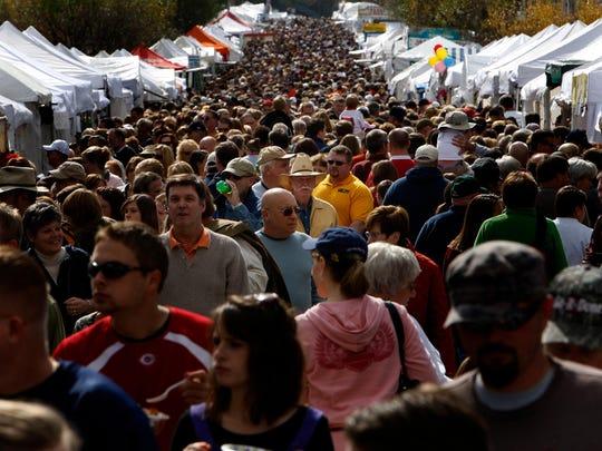 Ohio Sauerkraut Festival.