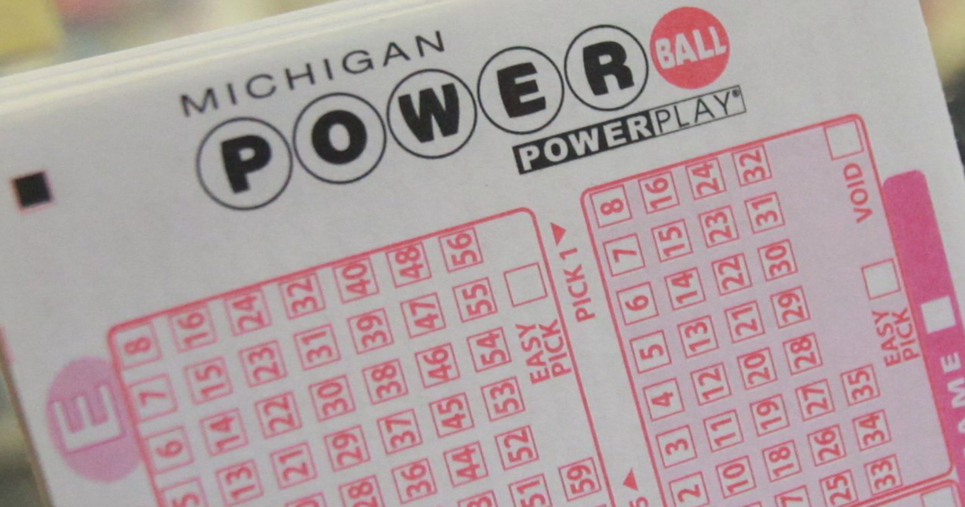 Michigan Lottery: $1M Powerball winner has a month to claim