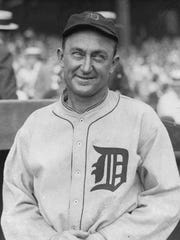 Detroit Tigers' Ty Cobb in a 1924 photo. Before being