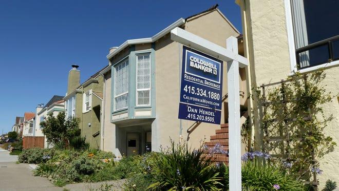Homes in San Francisco in 2014.