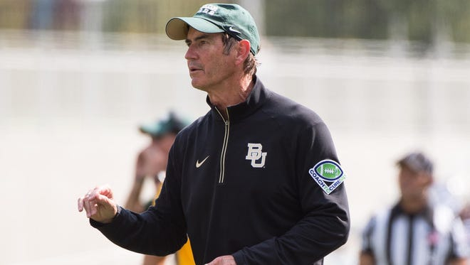 Former Baylor coach Art Briles will not be speaking to the AFCA.