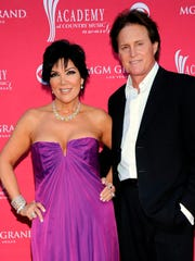 Bruce Jenner with third wife Kris Jenner in 2009.