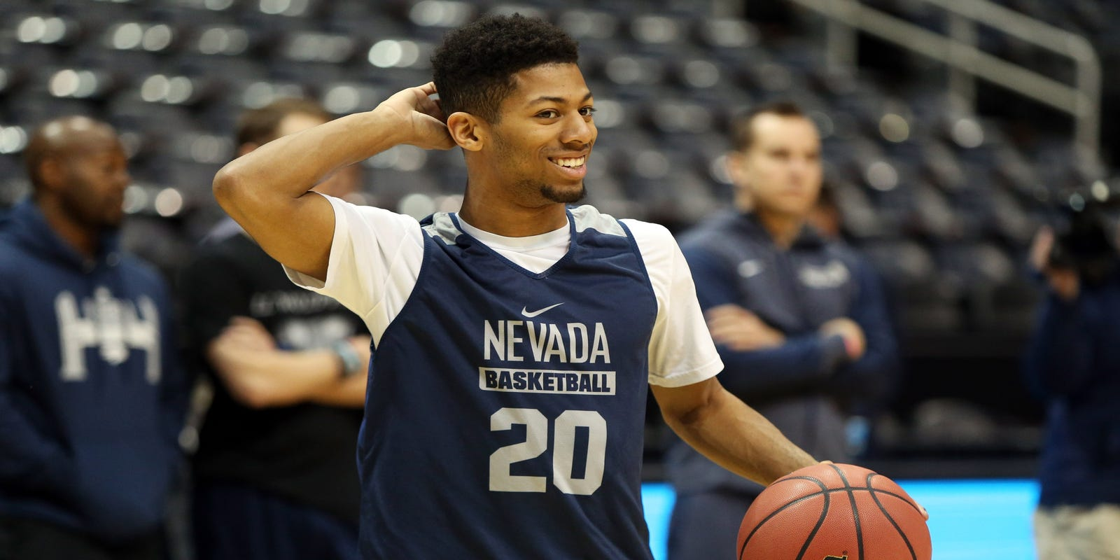 210e3c8be28 Watch: Wolf Pack practices in advance of Sweet 16 game against Loyola