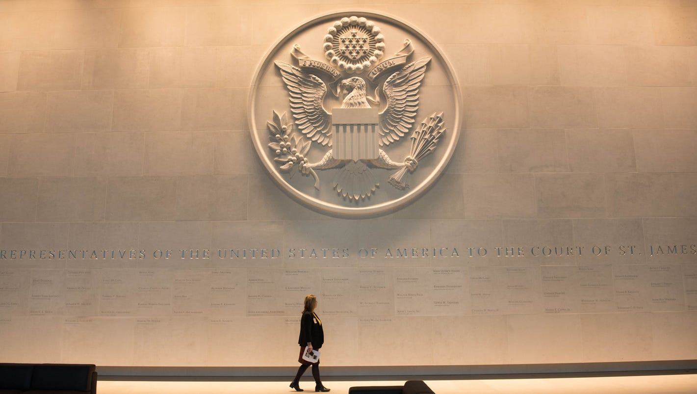 New US Embassy in London set to open in January 2018