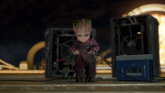 Baby Groot's playlist will certainly be more interesting