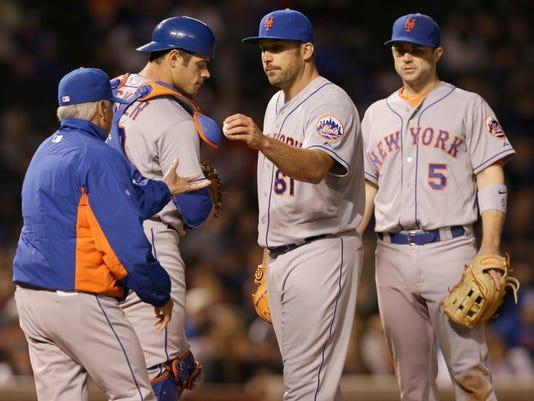 Mets Cubs Baseball