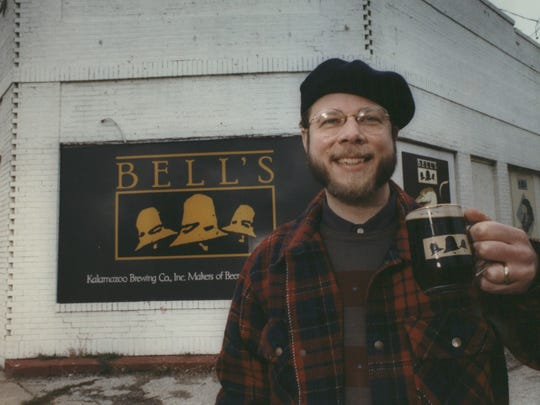Larry Bell, founder and owner of Bell's Brewery in Kalamazoo, shown here in a photo dated Nov. 25, 1992.