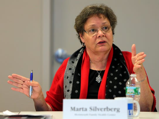 Marta Silverberg from the Monmouth Family Health Center