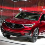 2019 Acura RDX boasts new platform sporty engine and AWD system, more room at Detroit auto show