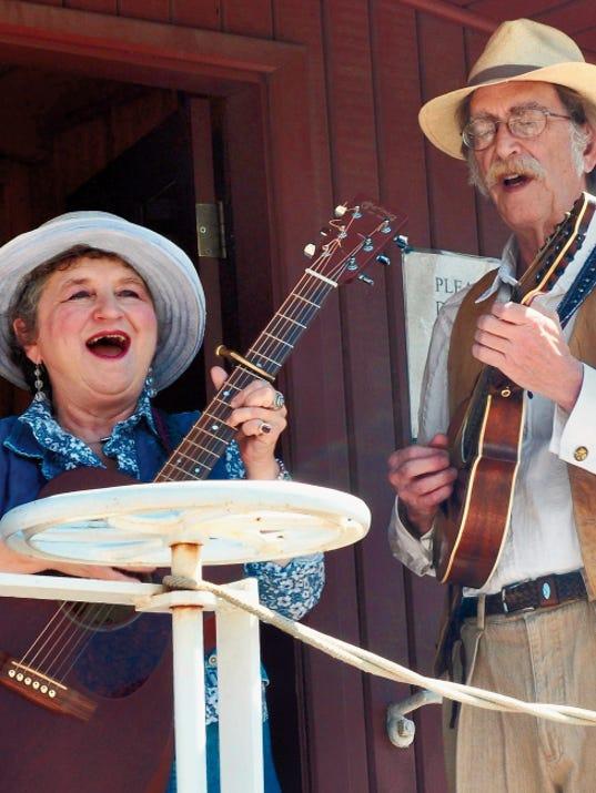 Jane Voss & Hoyle Osborne will perform at the Fort Bayard 149th birthday celebration on Aug. 22 in Santa Clara. Courtesy Photo