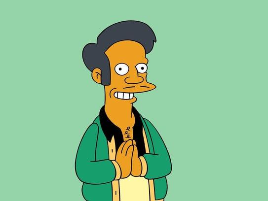 "Kwik-E-Mart proprietor Apu is a character on ""The Simpsons,"""