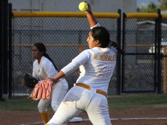 Former Parkland pitcher Andrea Morales is having a tremendous season for Division II Rogers State University