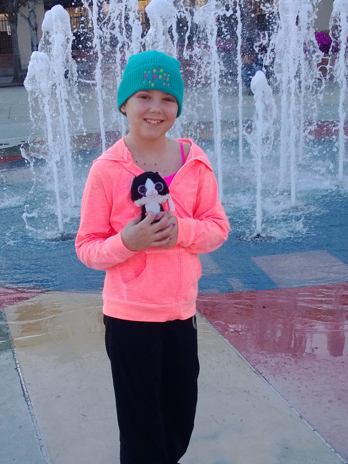 Kacie Francois wants to find a cure for cancer.