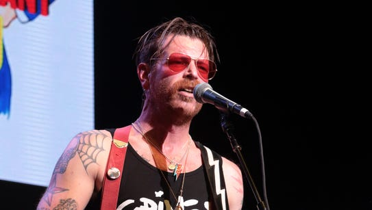 Jesse Hughes of Eagles of Death Metal performs during
