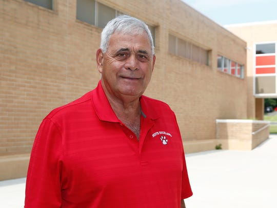 North Rockland High School athletic director Joe Casarella photographed at North Rockland High School in Thiells on Friday, August 4, 2017.