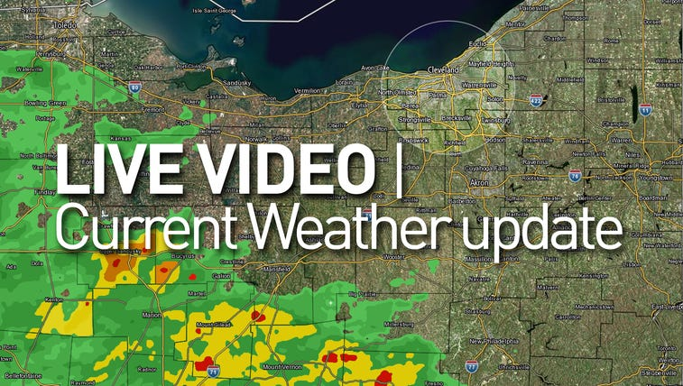Get the latest weather update LIVE weeknights at 9pm!