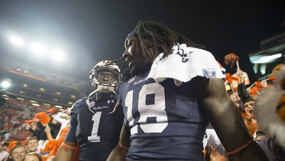 Duke Williams, here with Sammie Coates (18) has been
