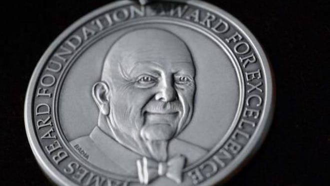A James Beard Foundation award.