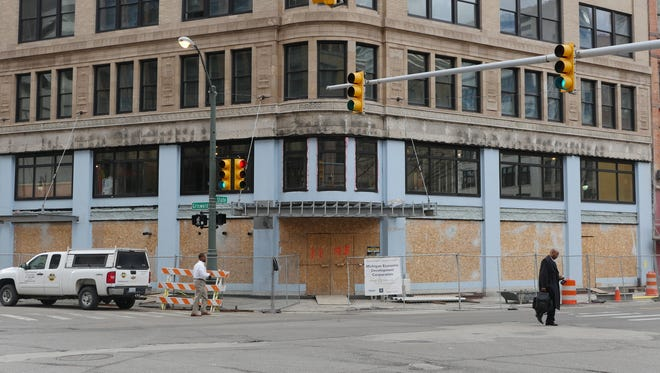 A sprawling contemporary steakhouse from the restaurateur behind Townhouse Detroit is slated for the lower and ground levels of 1145 Griswold in Detroit's Capitol Park.