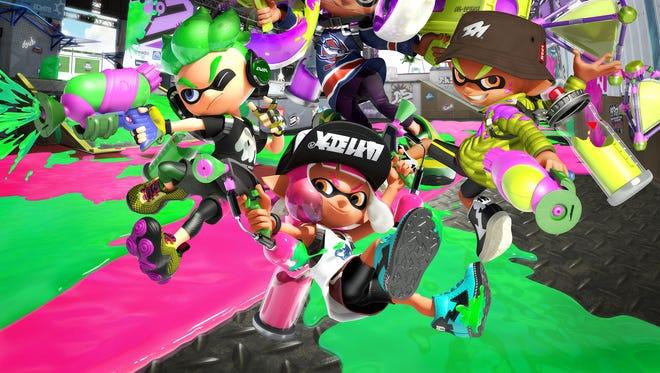 Splatoon 2 for the Nintendo Switch.