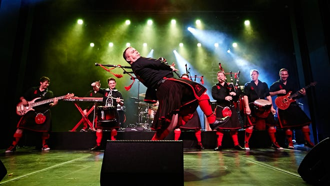The Red Hot Chilli Pipers will perform at Tarrytown Music Hall, March 16.
