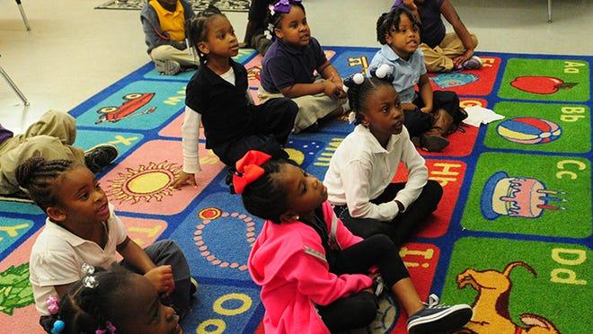 Pre-kindergarten class in Hattiesburg, Miss.