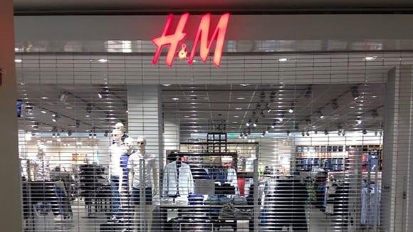 H&M store in Northpark mall