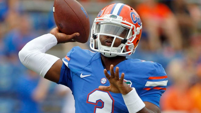 Florida Gators quarterback Treon Harris has been suspended from the team after being accused of a sexual assault on Sunday.
