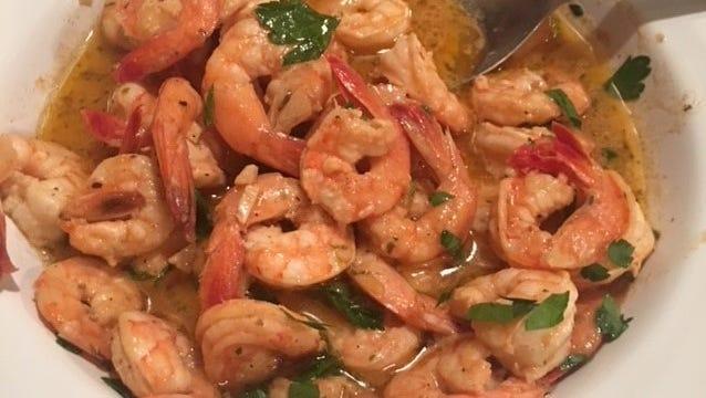 A garlic shrimp recipe great for tapas.