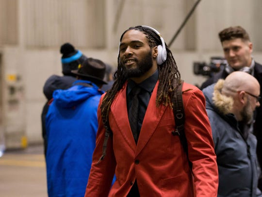 New England Patriots running back Brandon Bolden (38)