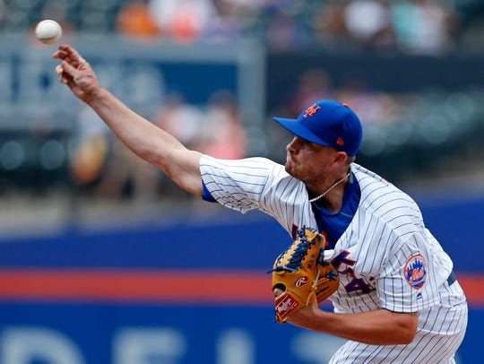 Mets reliever Addison Reed is generating plenty of