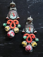 Ayla Bar (Israeli artist) earrings
