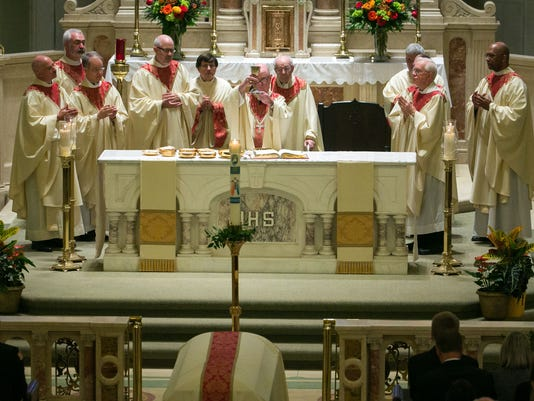 Leach Funeral Mass