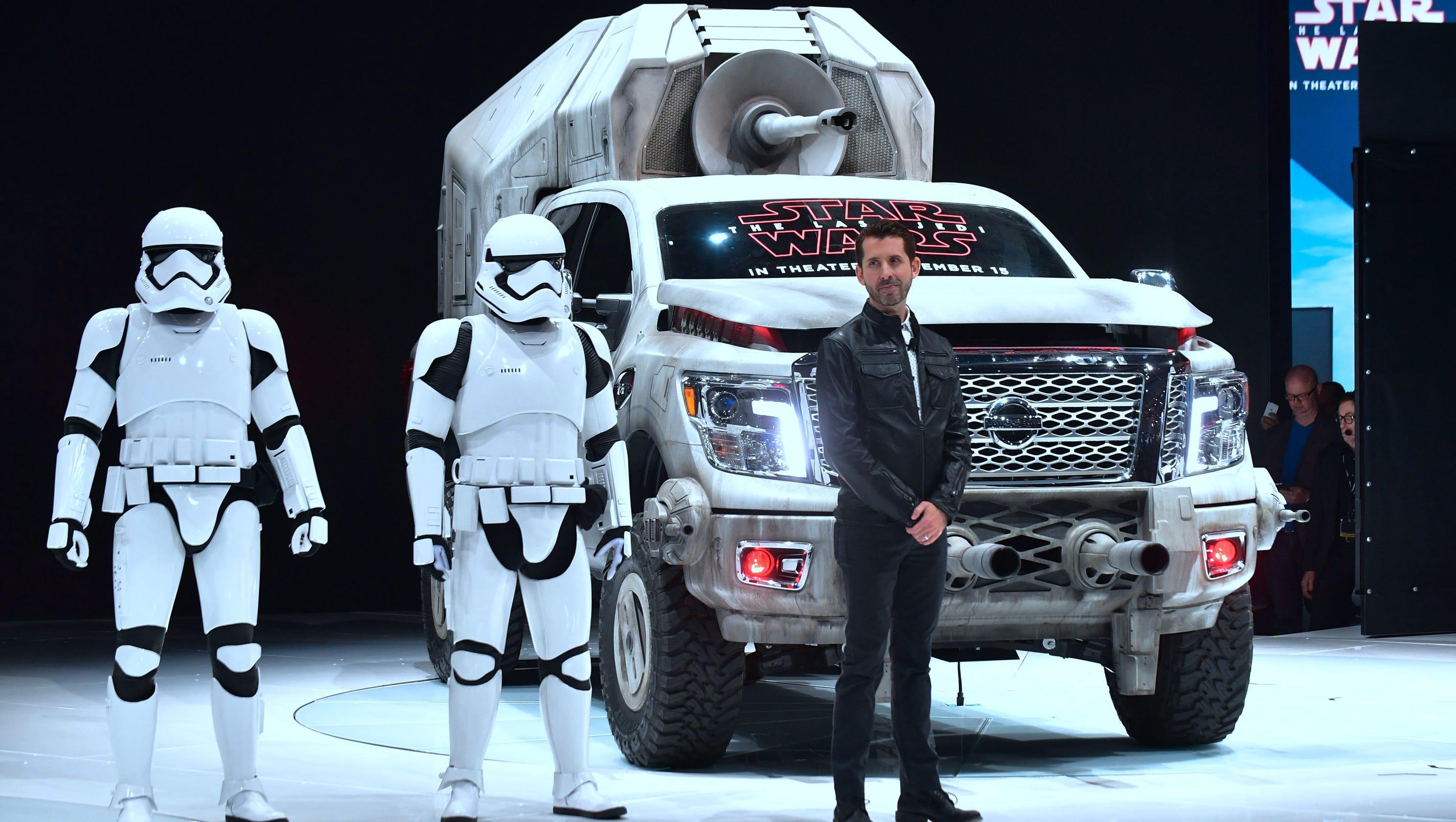 Nissan Unveils Fleet Of New 'Star Wars' Vehicles