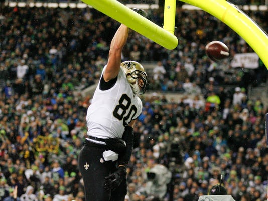 Jimmy Graham ruled tight end for franchise tag by arbitrator
