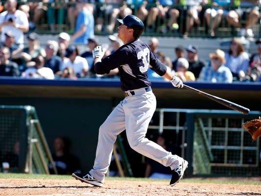 Yankees Astros Spring Baseball