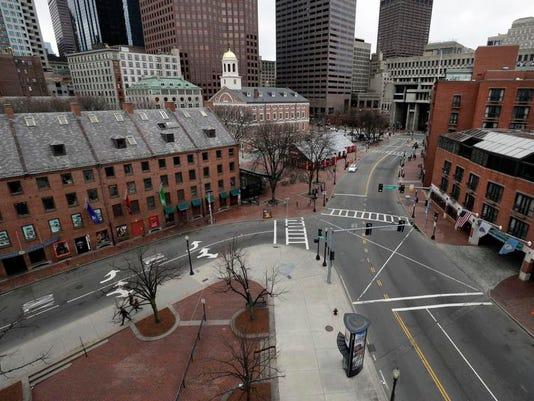 Boston Marathon Lockdown