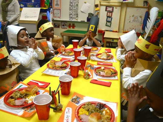 Children know the meaning of Thanksgiving Day