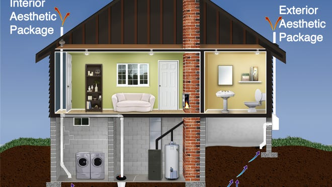 Radon remediation allows the gas that would leak into your house and otherwise be trapped there to be vented out.