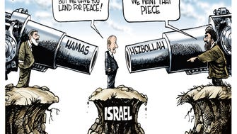 Ehud Olmert discovers a new meaning to the peace process in 2006.