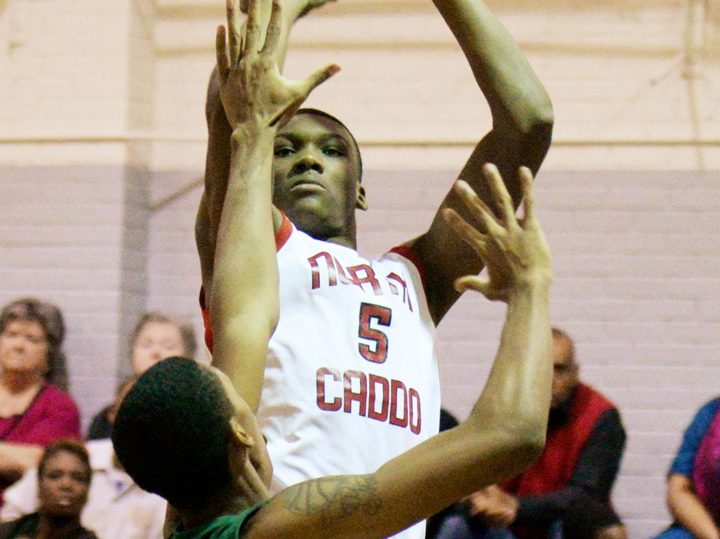 North Caddo's Robert Williams, a Texas A&M signee, is among the area's top returning players.